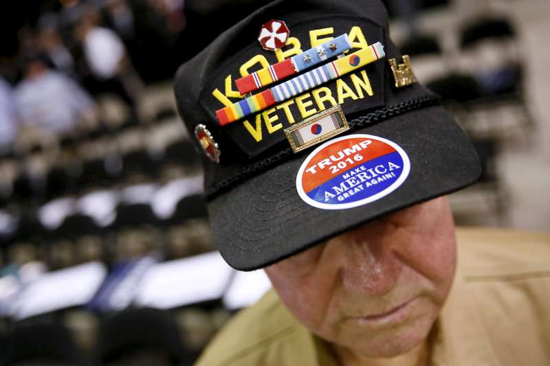 Veterans and Trump