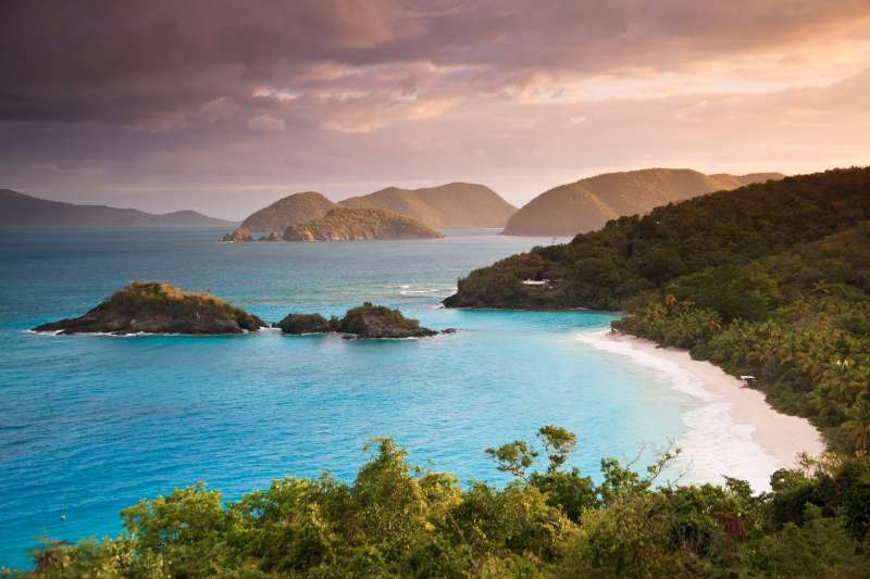 Trunk Bay in St. John