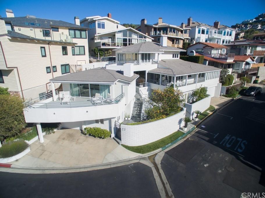 Warren Buffett Laguna Beach Home Exterior