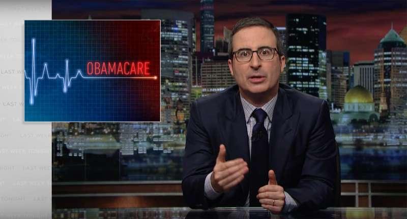 John Oliver on Obamacare