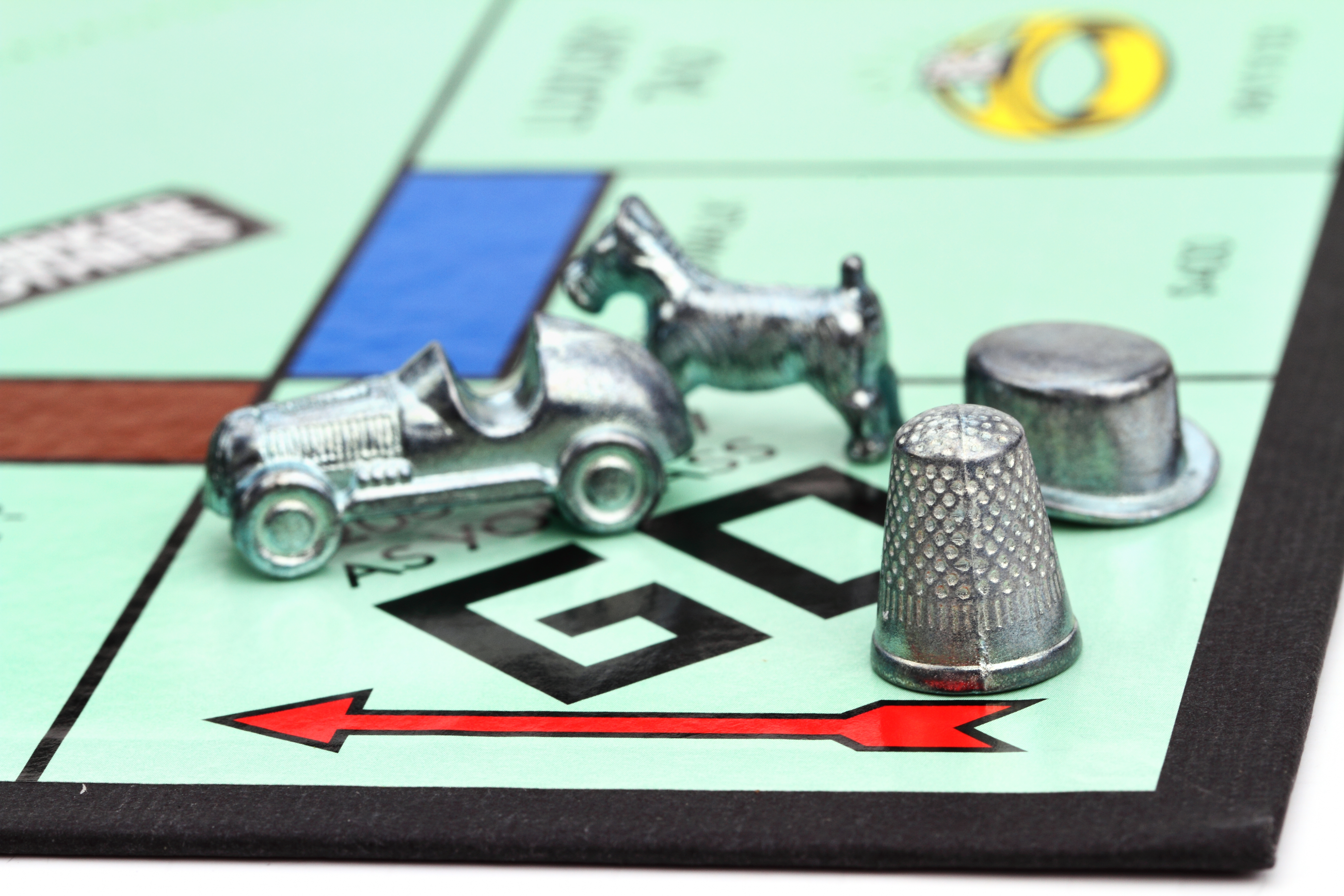 monopoly thimble voted off the gameboard