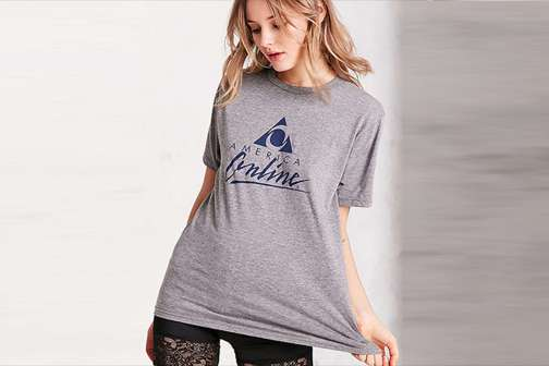 Urban Outfitters Wants You to Buy a $45 AOL T-Shirt