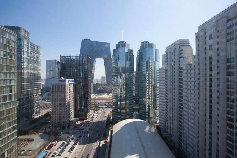view of Beijing,CBD skline