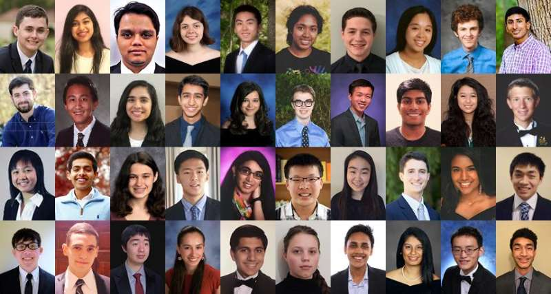 Regeneron Science Talent Search Society for Science & the Public2017 finalists