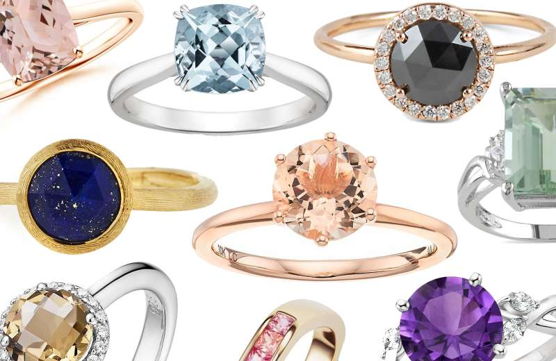 Affordable Engagement Rings that Aren't Diamonds