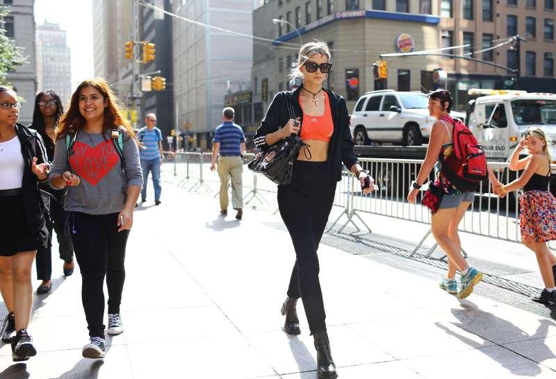 Abbey Lee Kershaw at New York Fashion Week