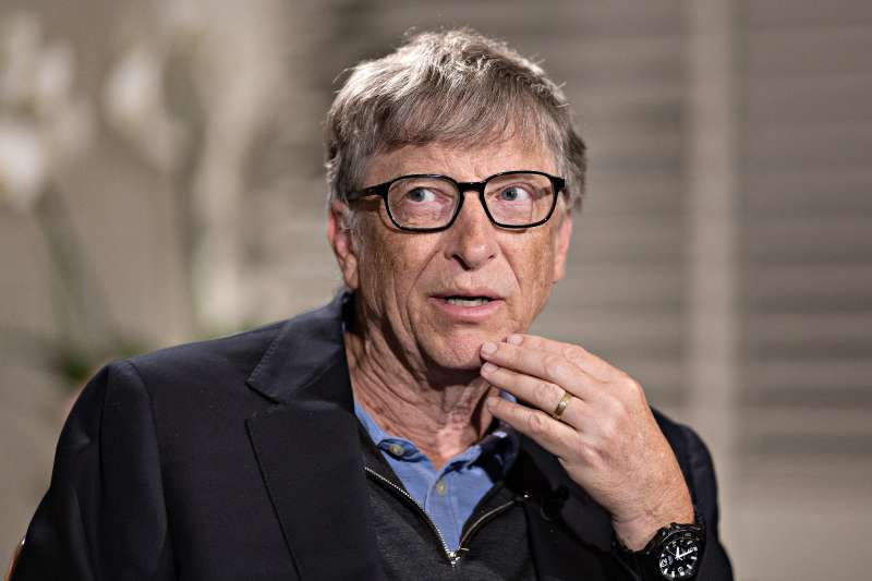 Microsoft Corp. Co-Founder Bill Gates Interview