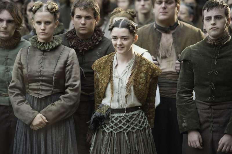Maisie Williams as Arya Stark in HBO's series Game of Thrones.