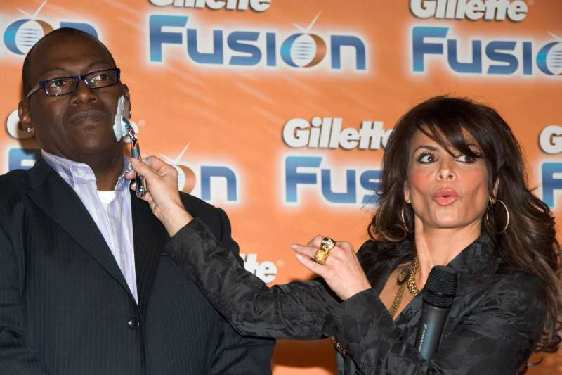 Paula Abdul and Randy Jackson Launch The Gillette Fusion Razor