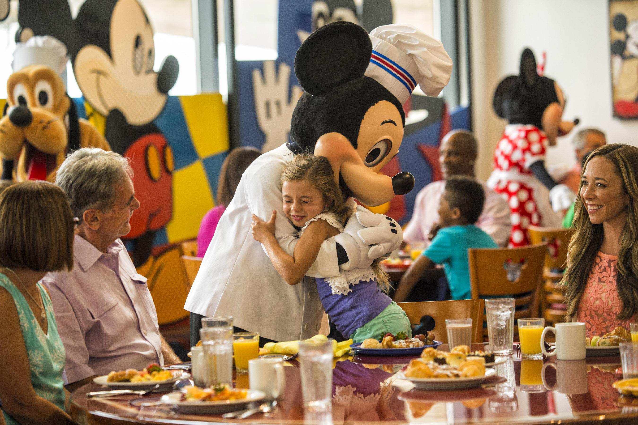 Chef MickeyÕs at DisneyÕs Contemporary Resort