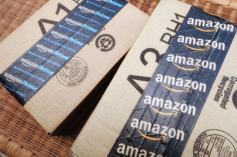 Amazon shipping packages