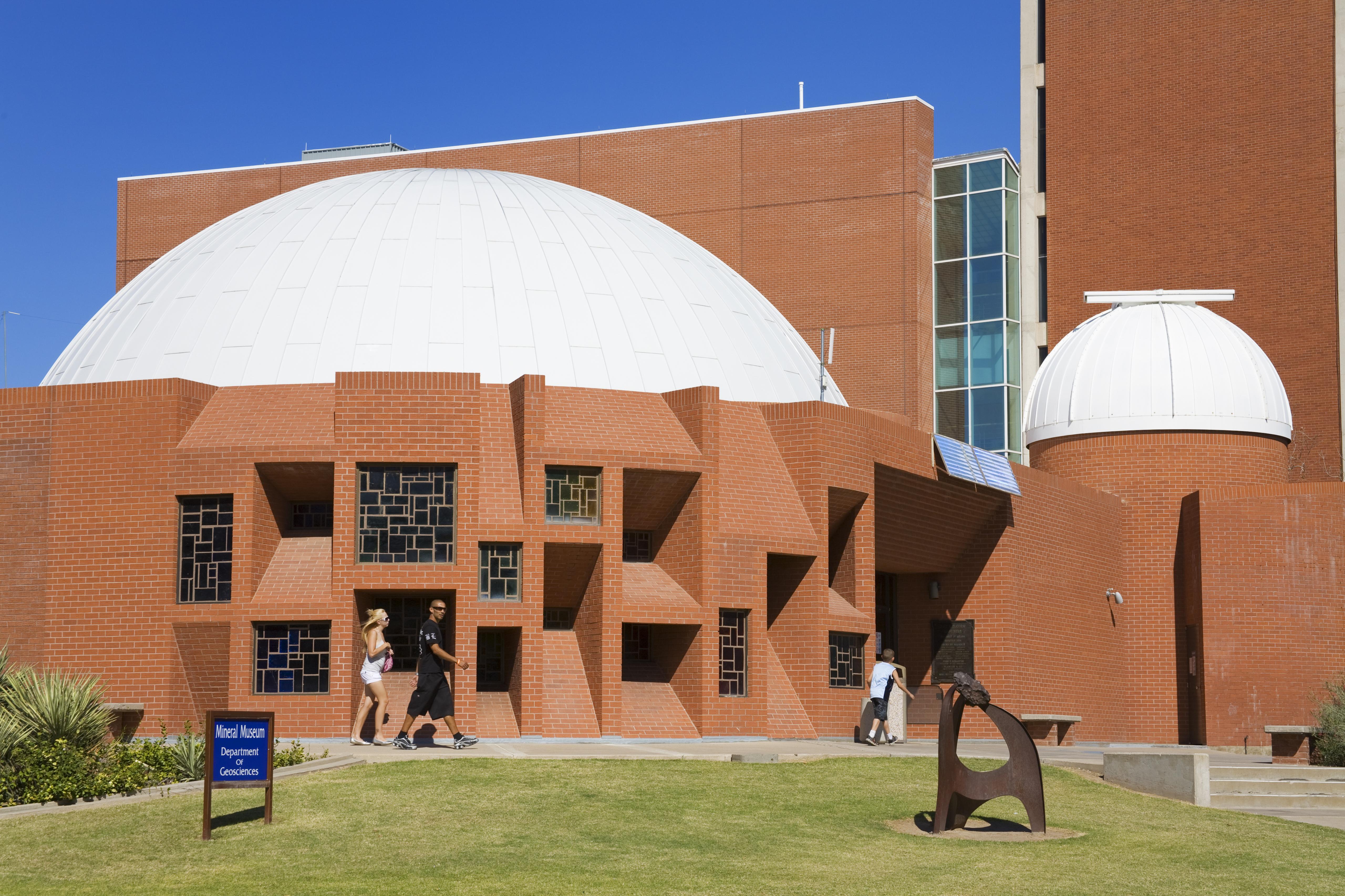 Flandrau Science Center and Planetarium on campus of the University of Arizona.