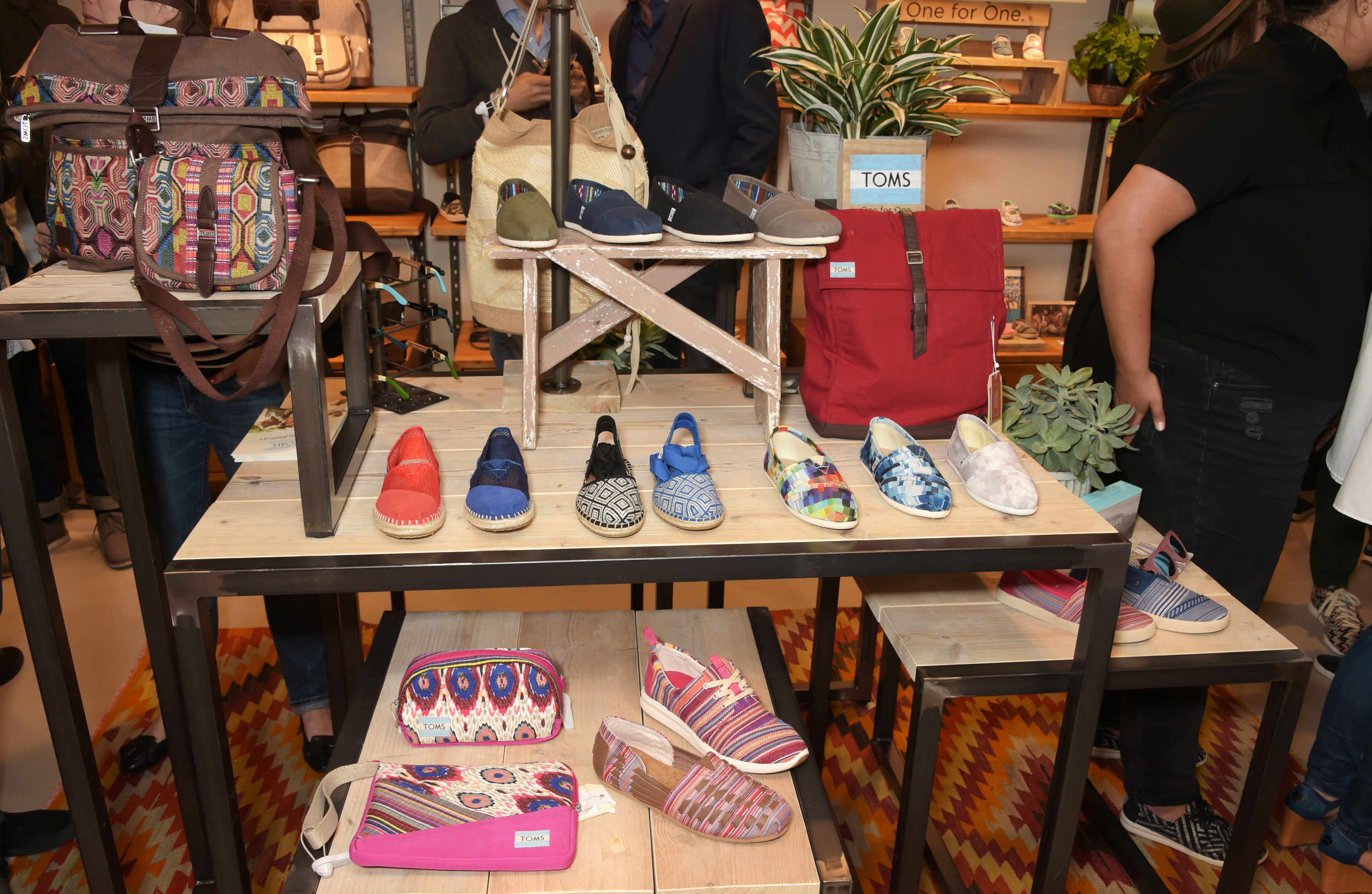 The Launch Of TOMS London Community Outpost