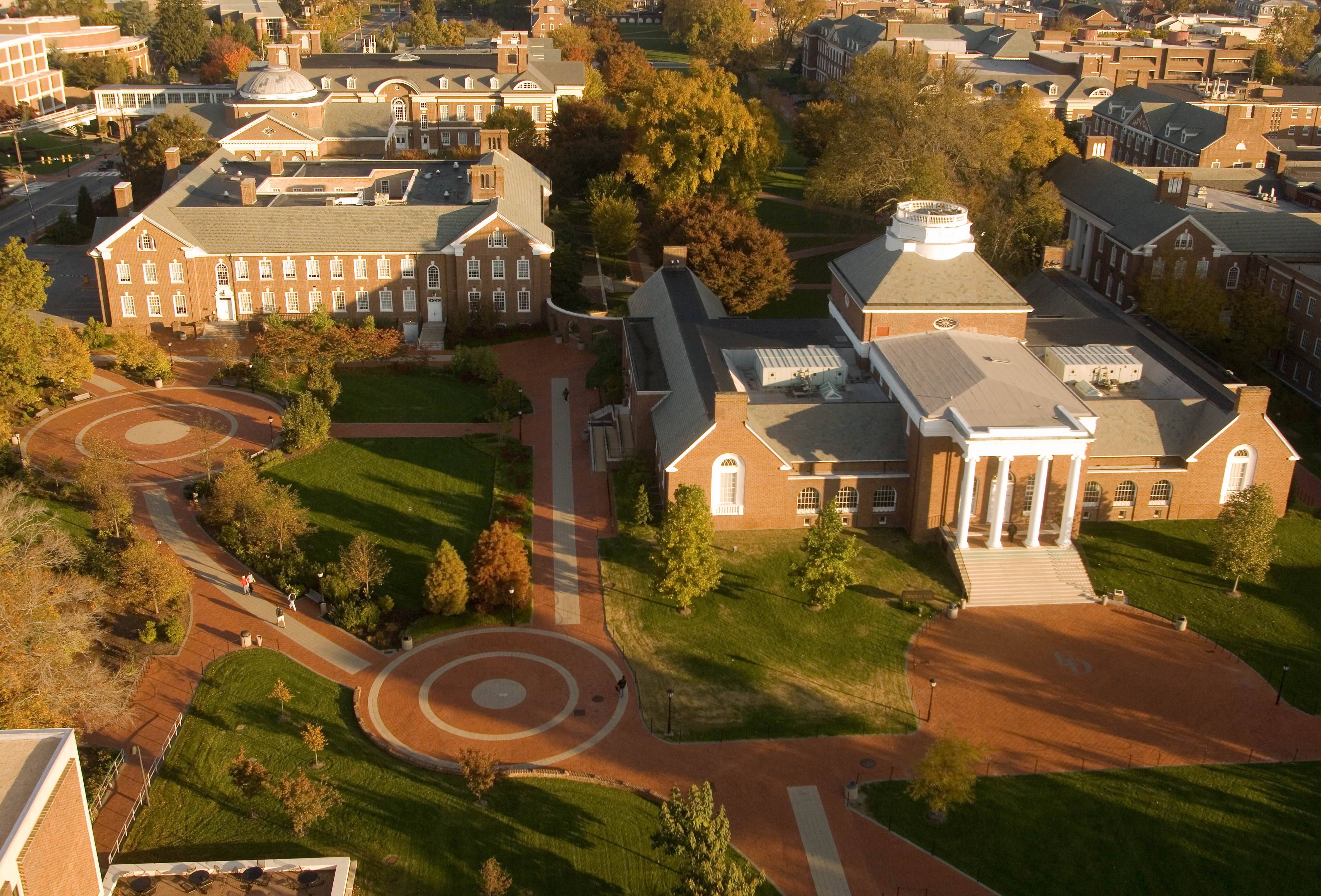 Fall Campus Aerials