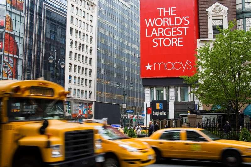 Macy's Store, Herald Square, Midtown Manhattan.