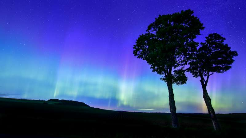 Beautiful Aurora Of The Northern Lights Captured In The US