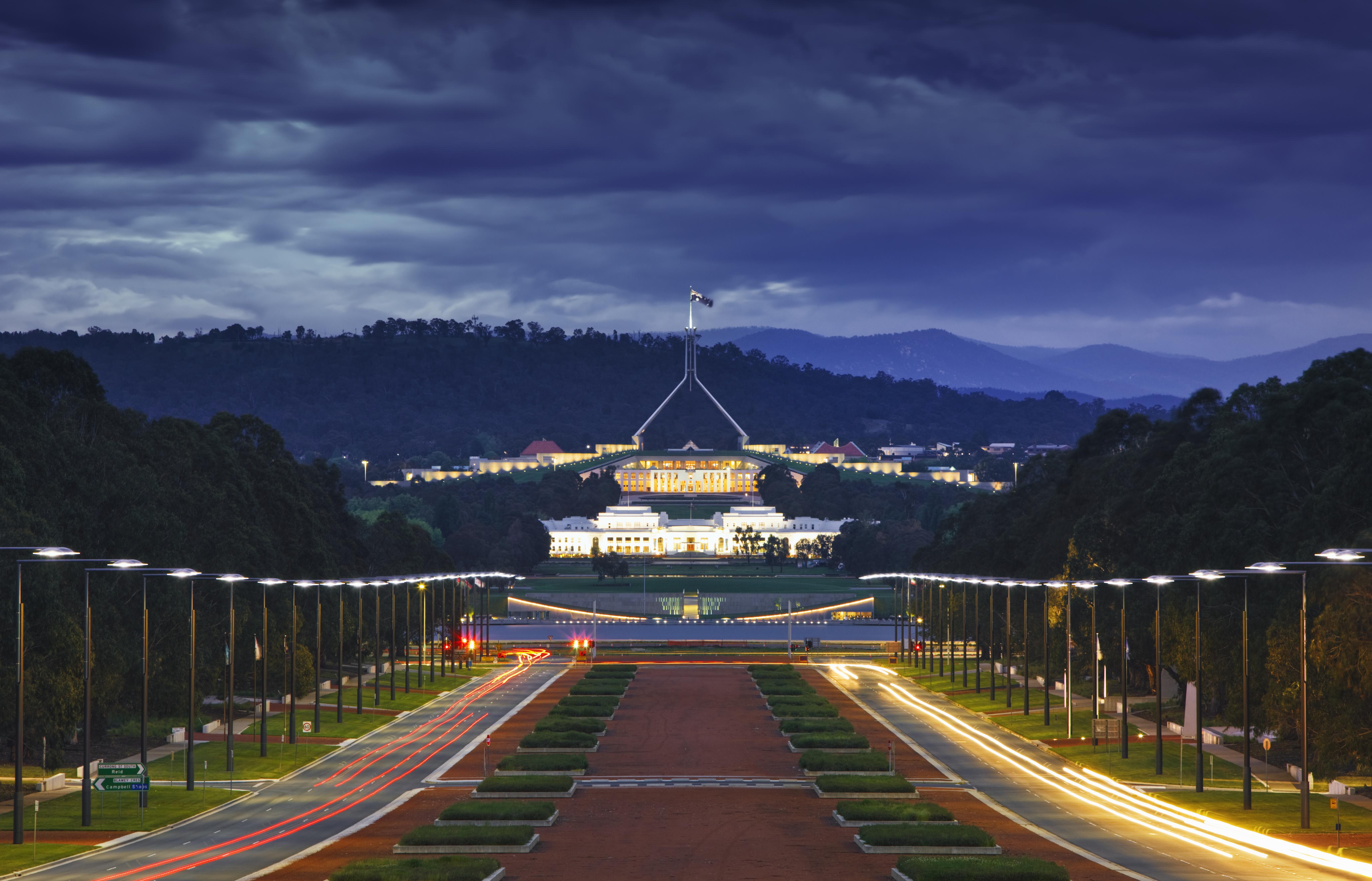 Australian Parliament and Anzac War Memorial