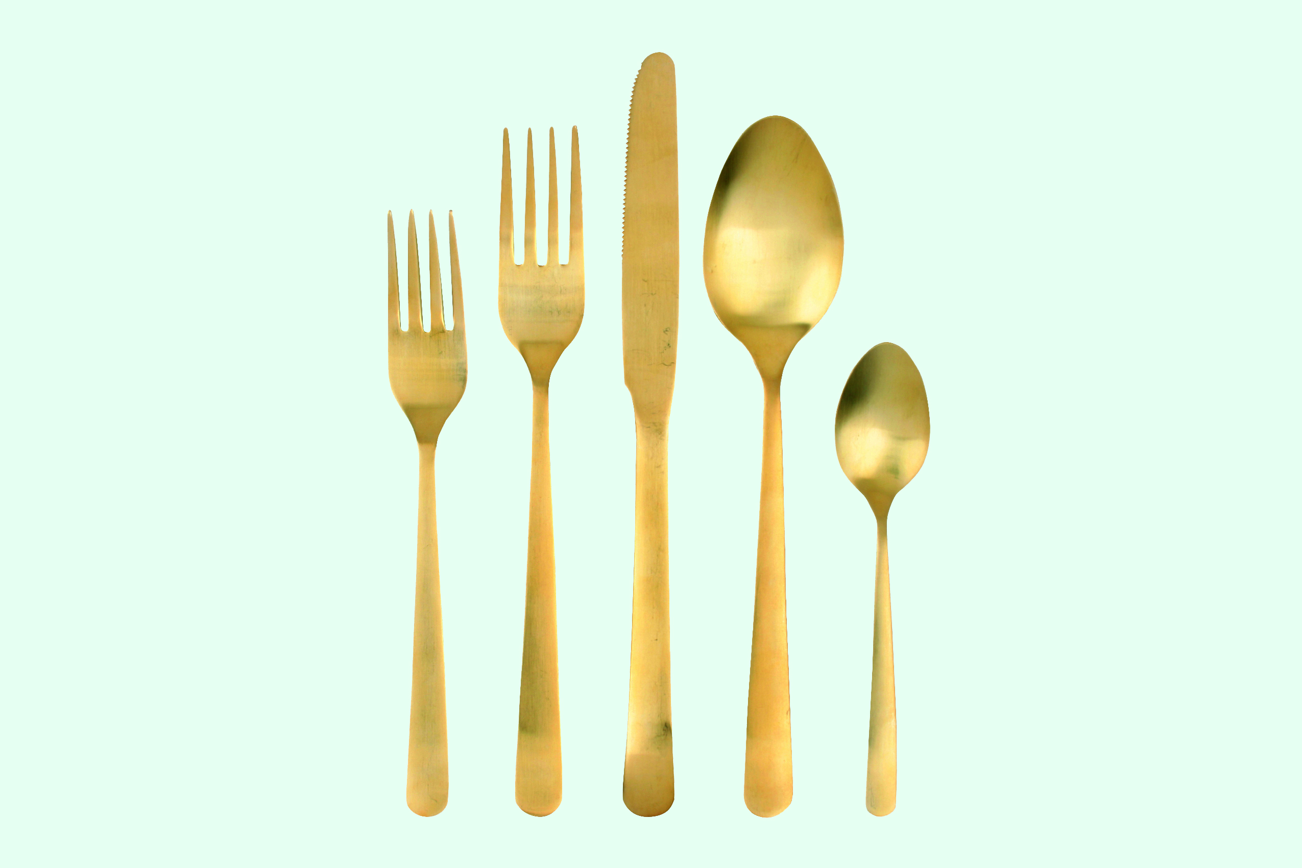 Gold Cutlery from Canvas Home