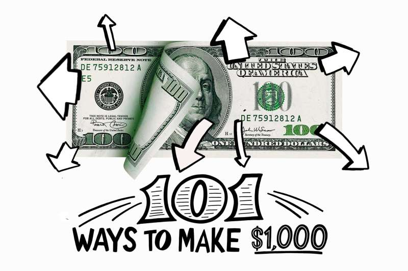 Continue on to see all the ways you can earn or save an extra $1,000 this year.