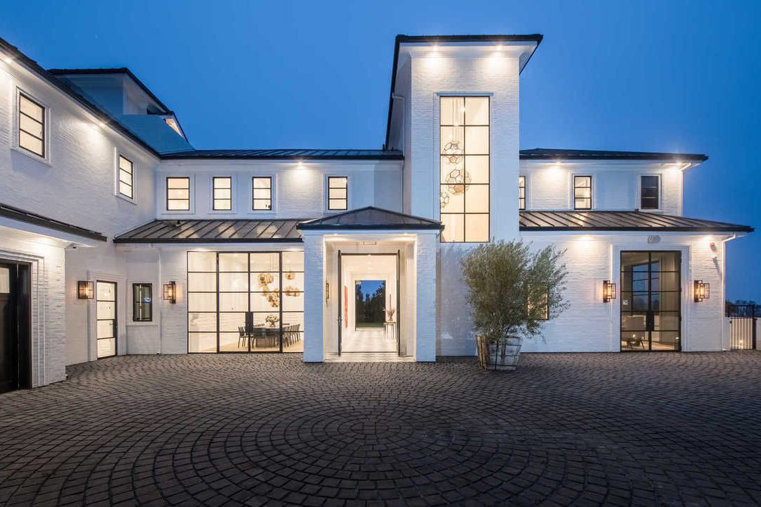 LeBron James' new $23M home in Brentwood, California.