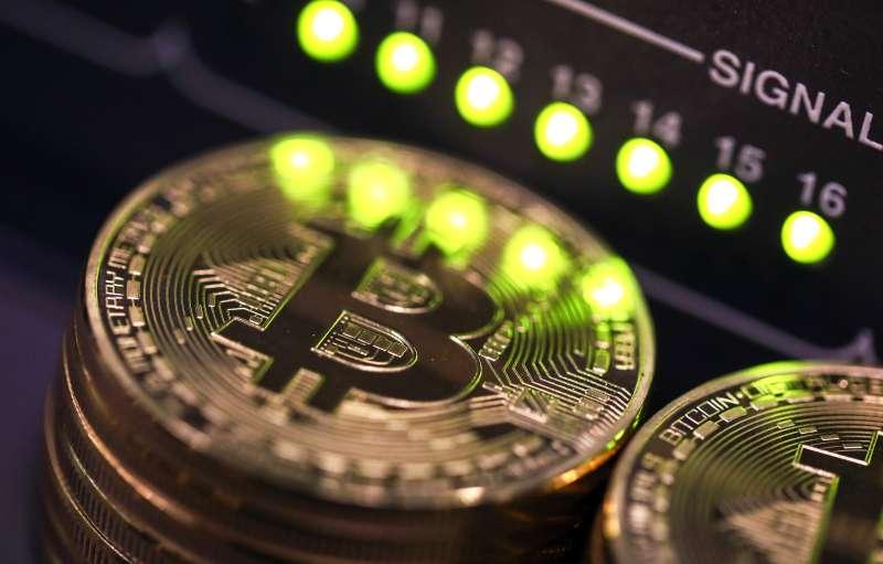 Bitcoin Monitor Lights