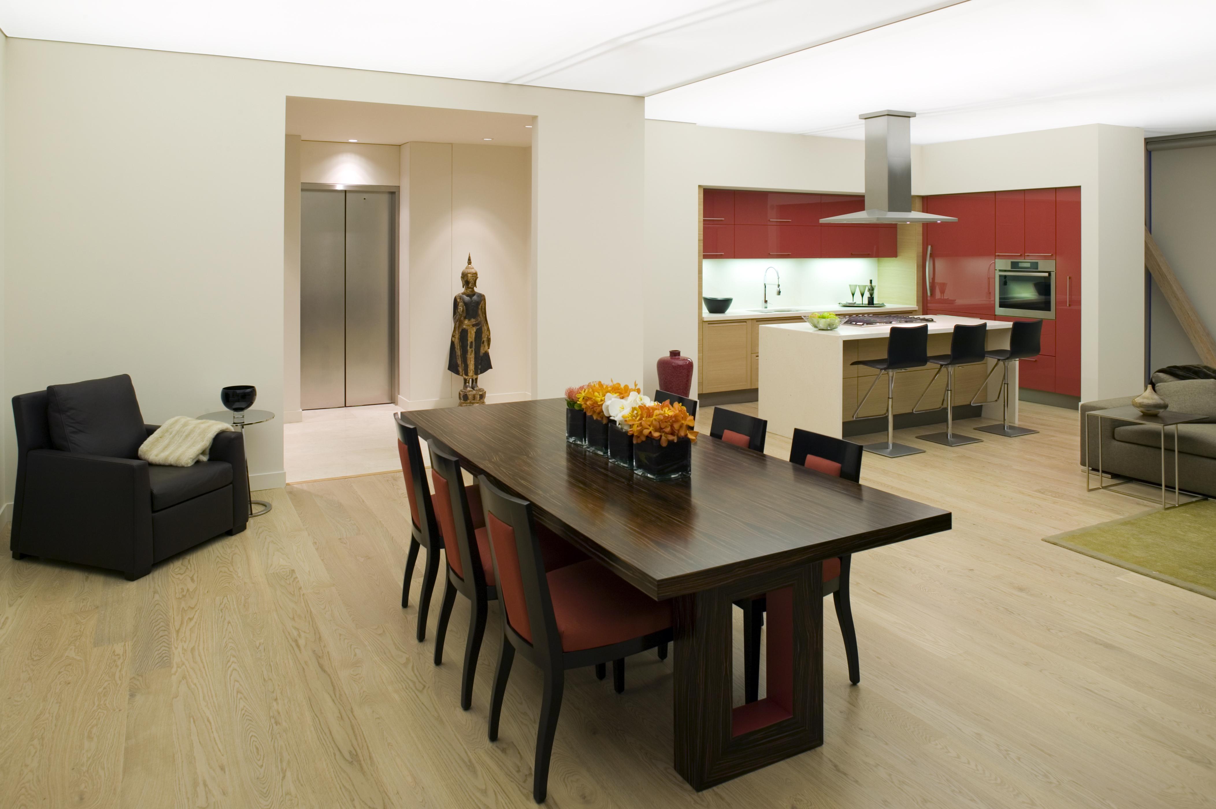 penthouse condominium kitchen
