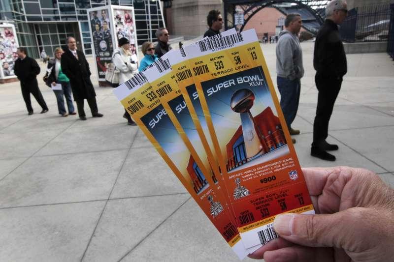 Super Bowl XLVI Tickets