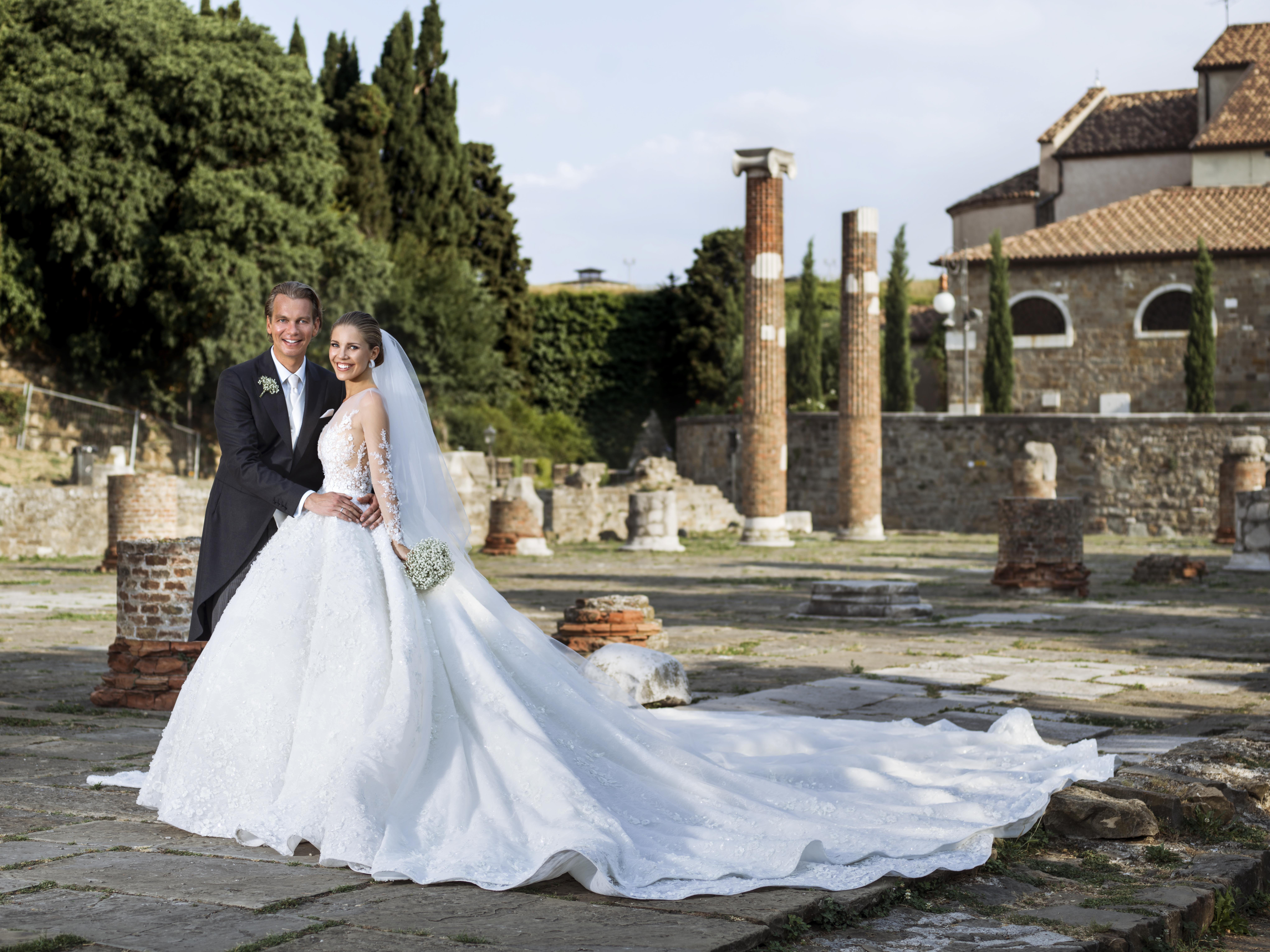 Victoria Swarovski And Werner Muerz Get Married In Trieste