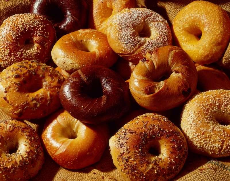 Assortment of bagels