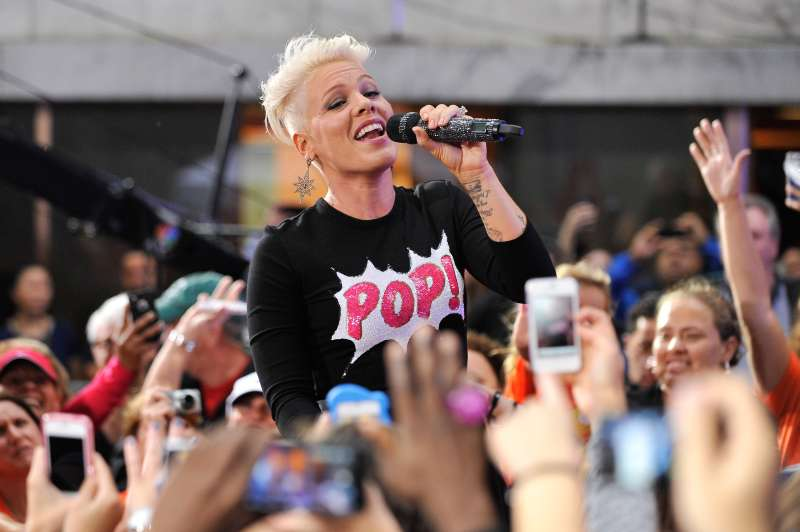 Pink Performs On NBC's  Today