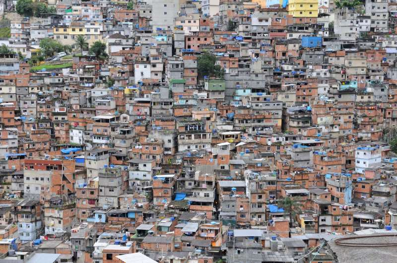 Roccinha, Rio de Janeiro, Brazil