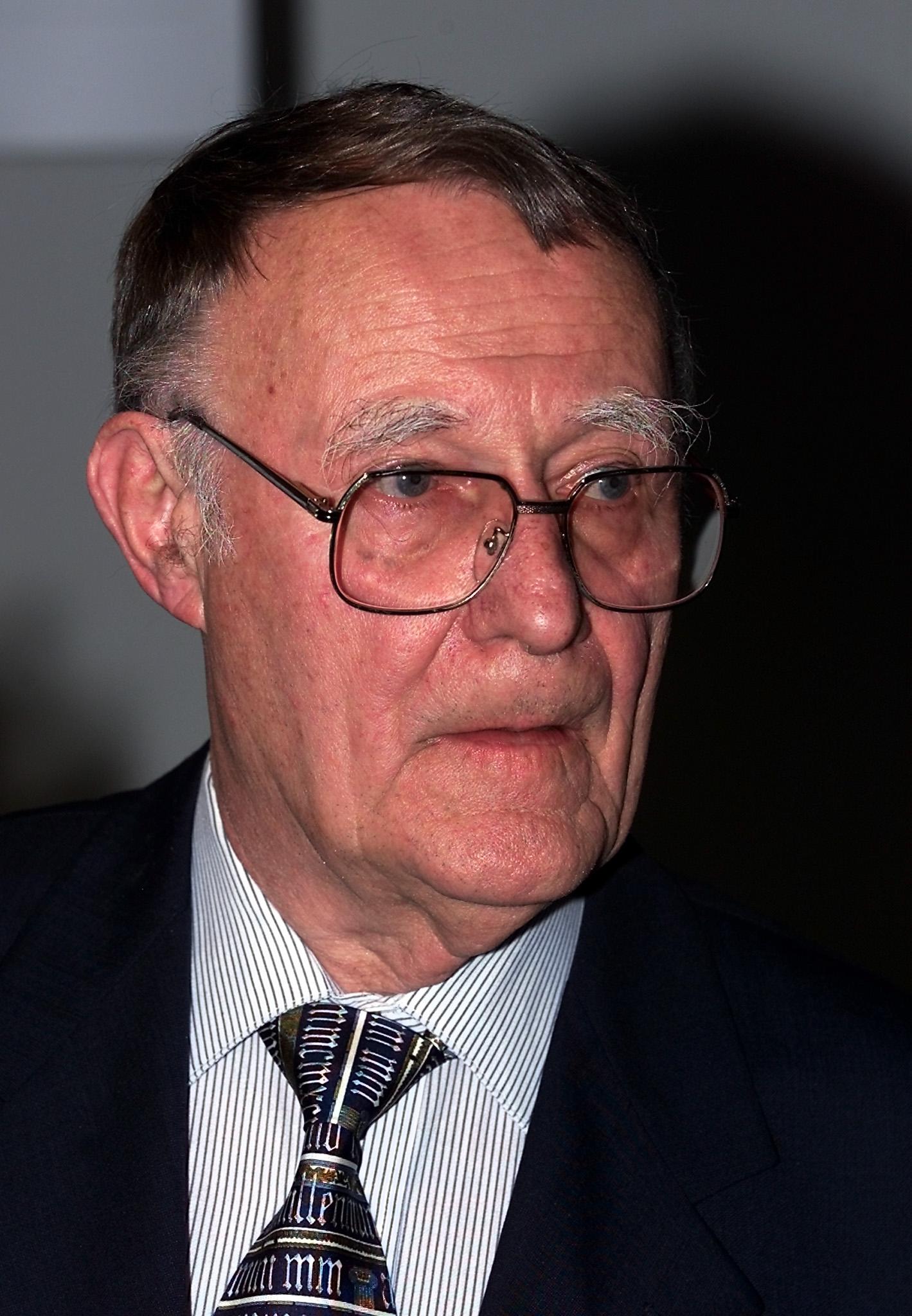 Ingvar Kamprad, the chairman of Ikea, answers the