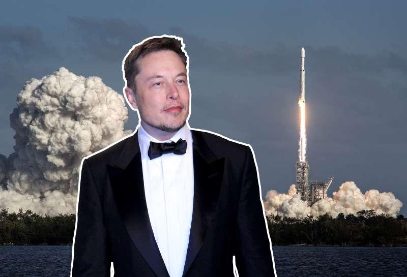 SpaceX Falcon Heavy rocket launch, Titusville, USA - 06 Feb 2018