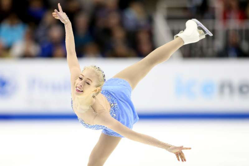 Figure skater Bradie Tennell in action