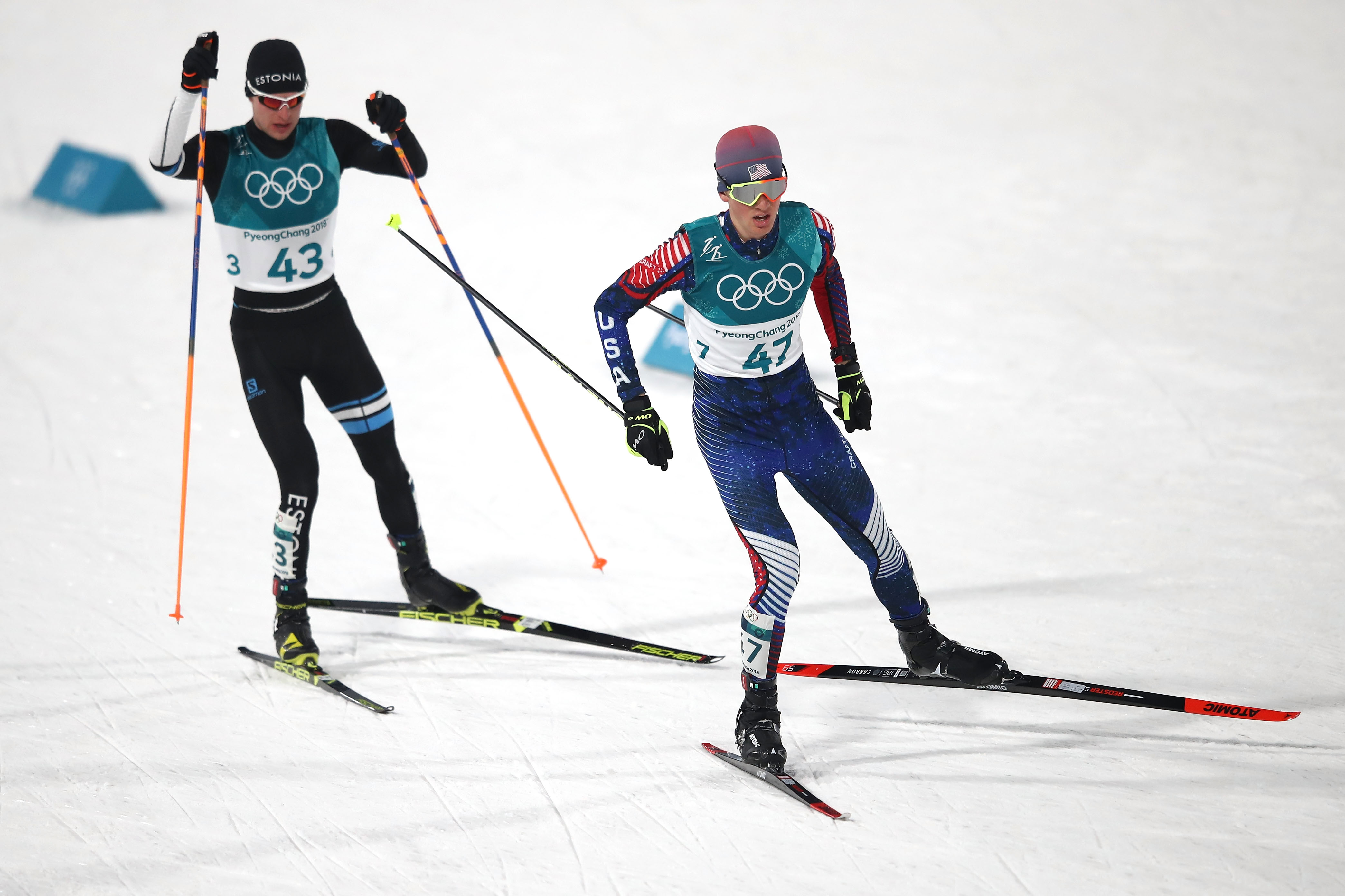 Nordic Combined - Winter Olympics Day 5