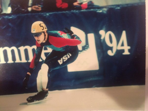 John K. Coyle, now retired, says he amassed $87,000 in credit card debt while he was an active speedskater.
