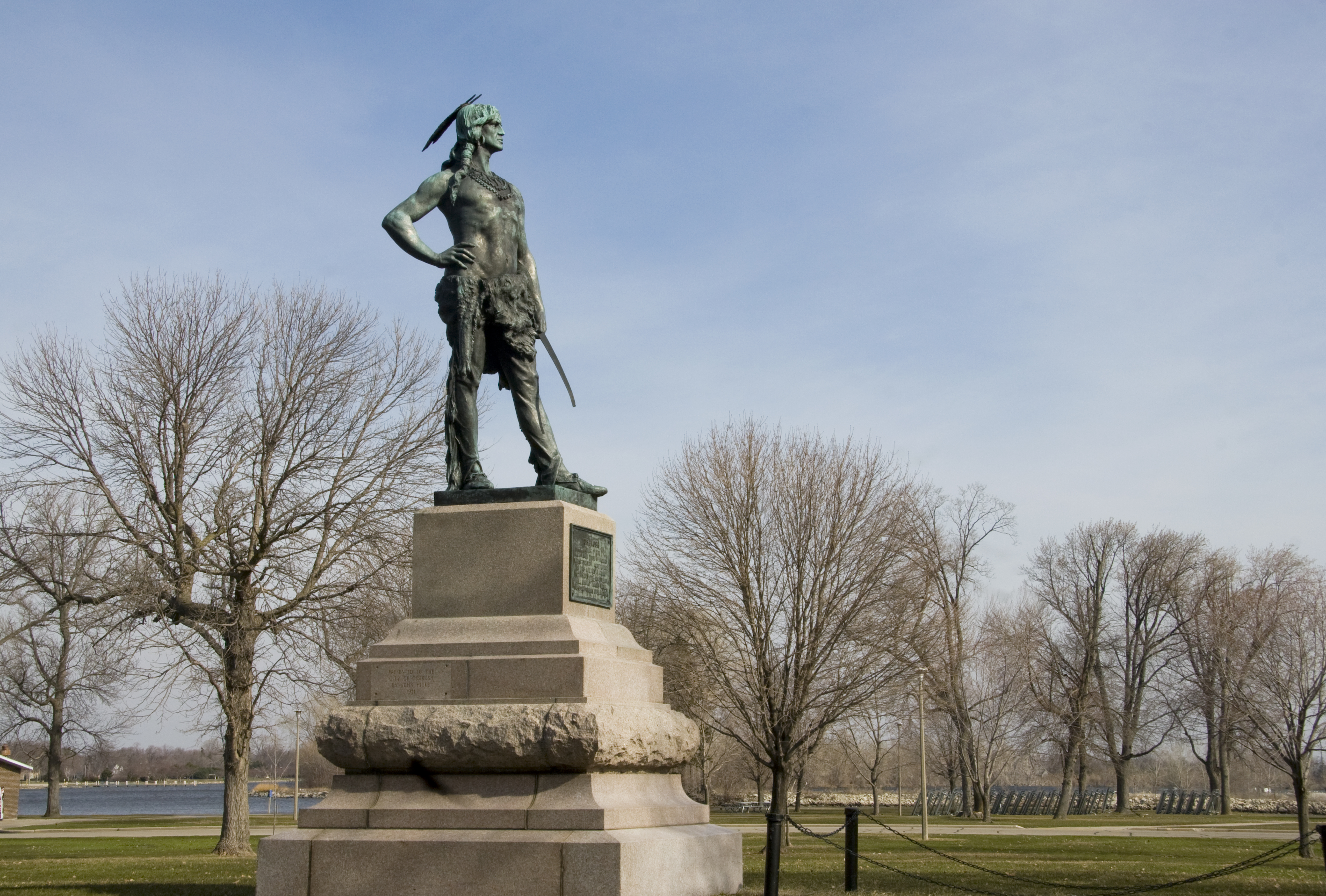 Statue of Chief Oshkosh
