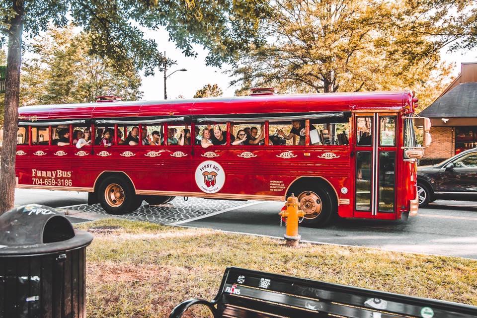 Funny Bus, Charlotte North Carolina