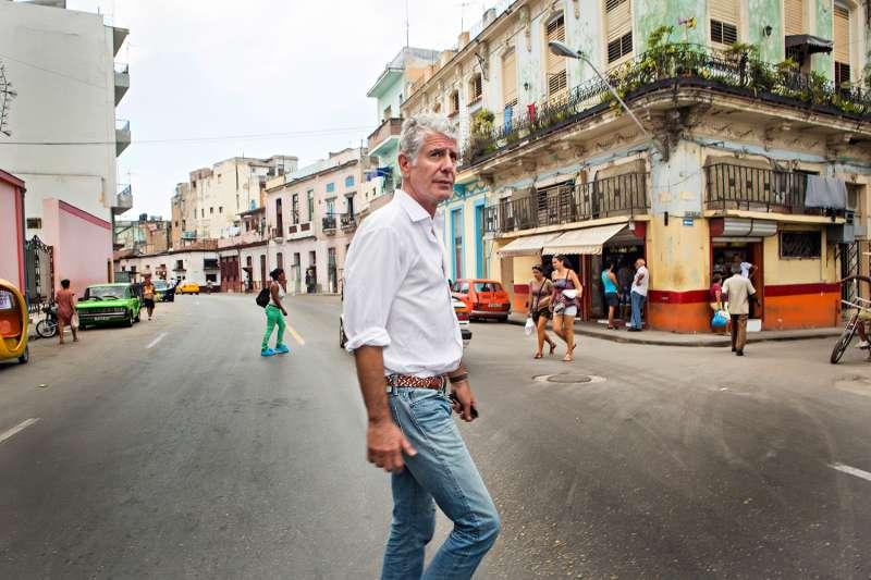 Anthony Bourdain visits Havana, Cuba on April 16, 2015.