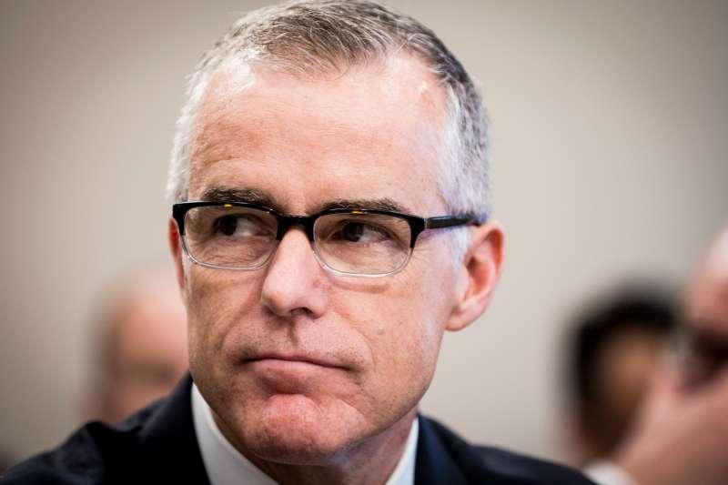 Former FBI Director Andrew McCabe testifies in Washington