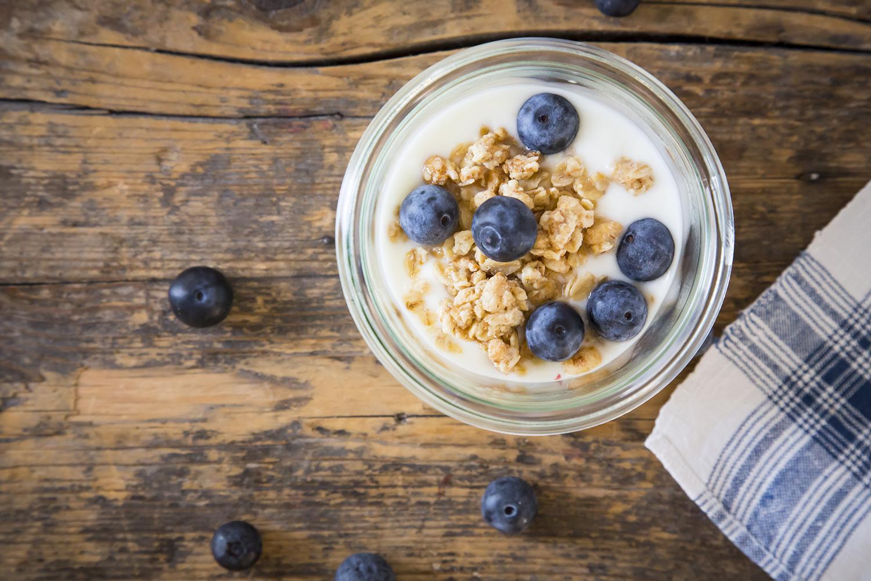 Granola and Yogurt
