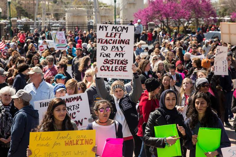 Teacher Strikes Spread As More Follow West Virginia's 'Wildcats'