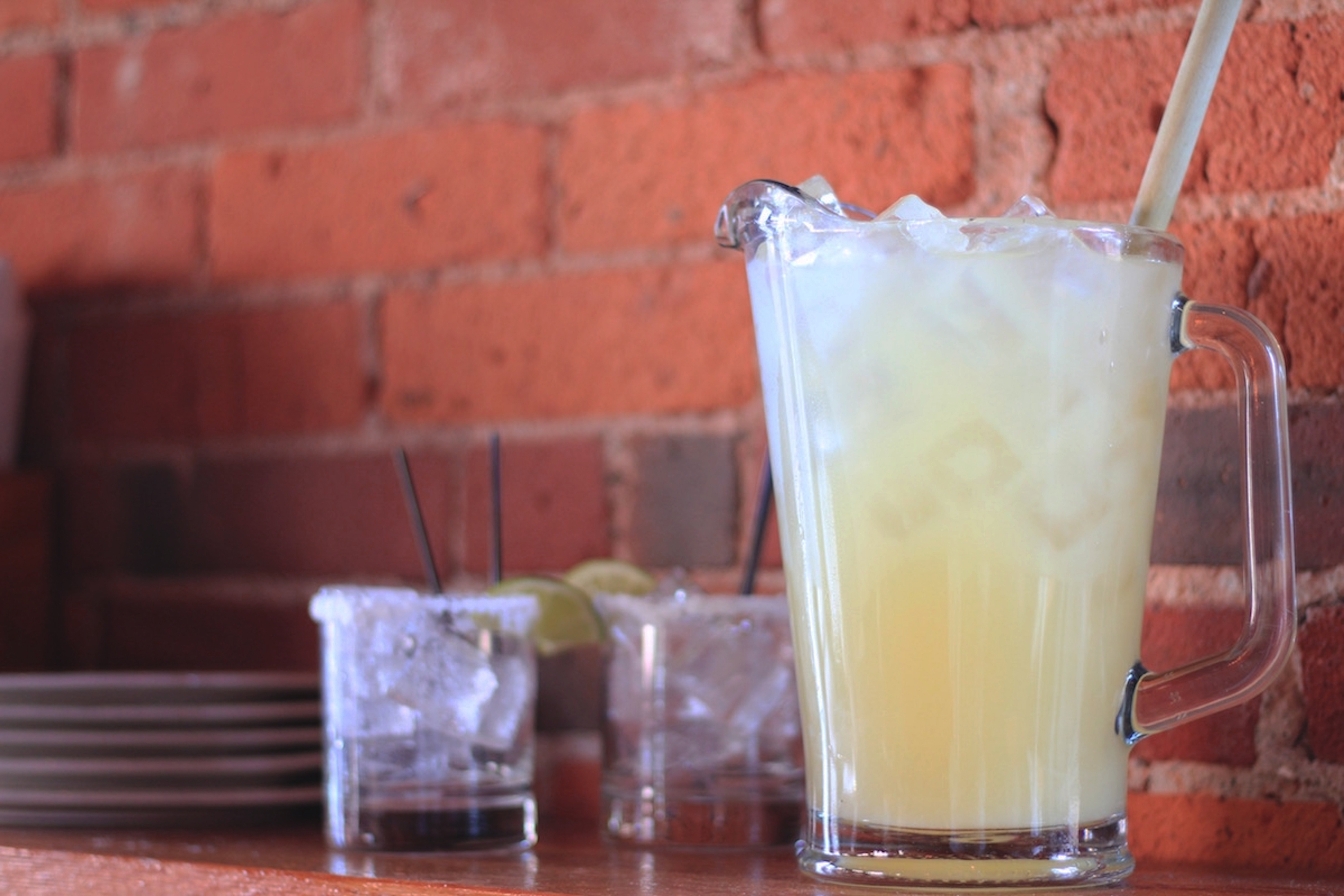 Pitcher of the signature Bakersfield Margarita