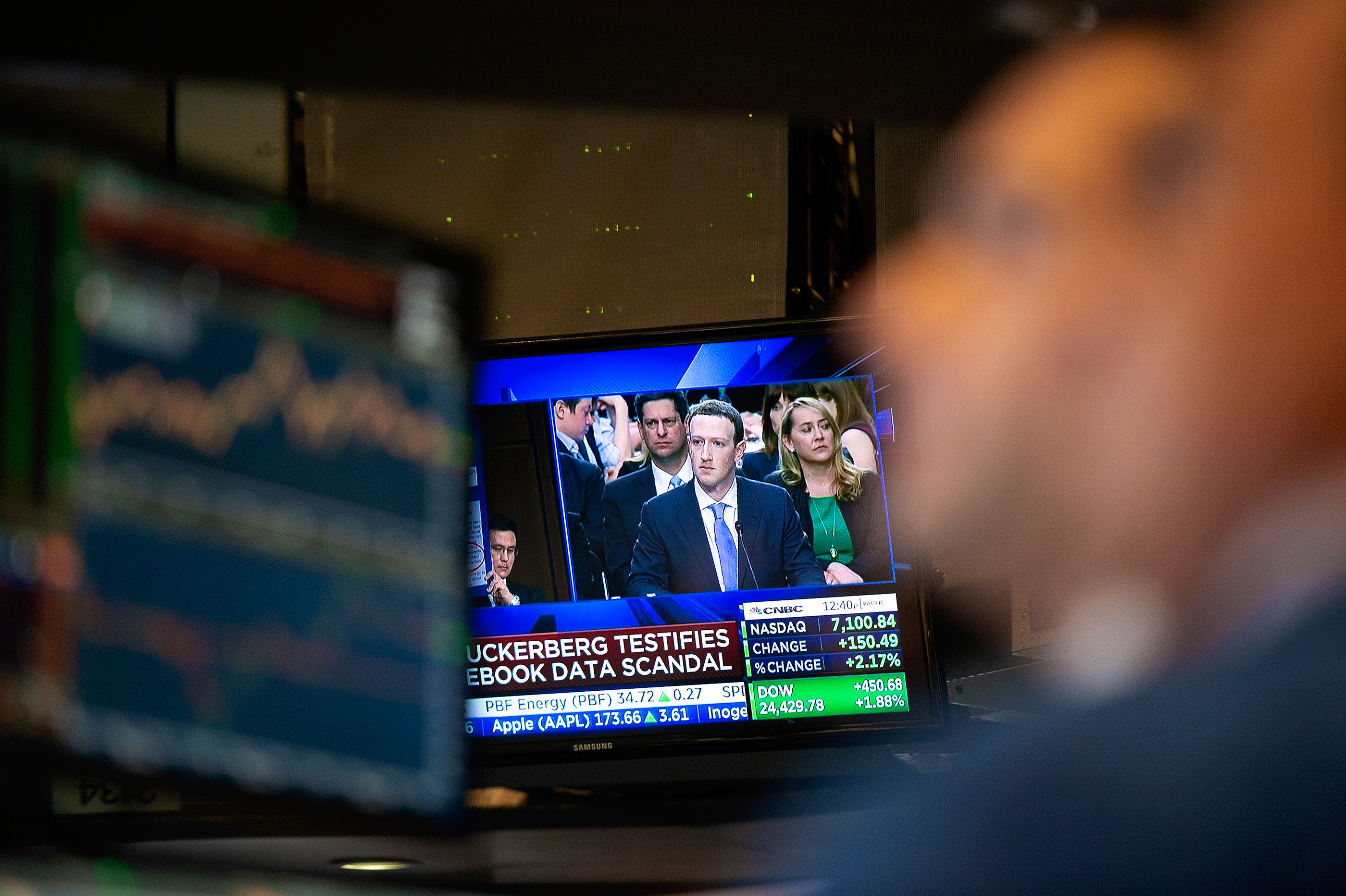 CNBC airs Facebook CEO Mark Zuckerberg's congressional testimony on a data scandal that hit the social media giant.