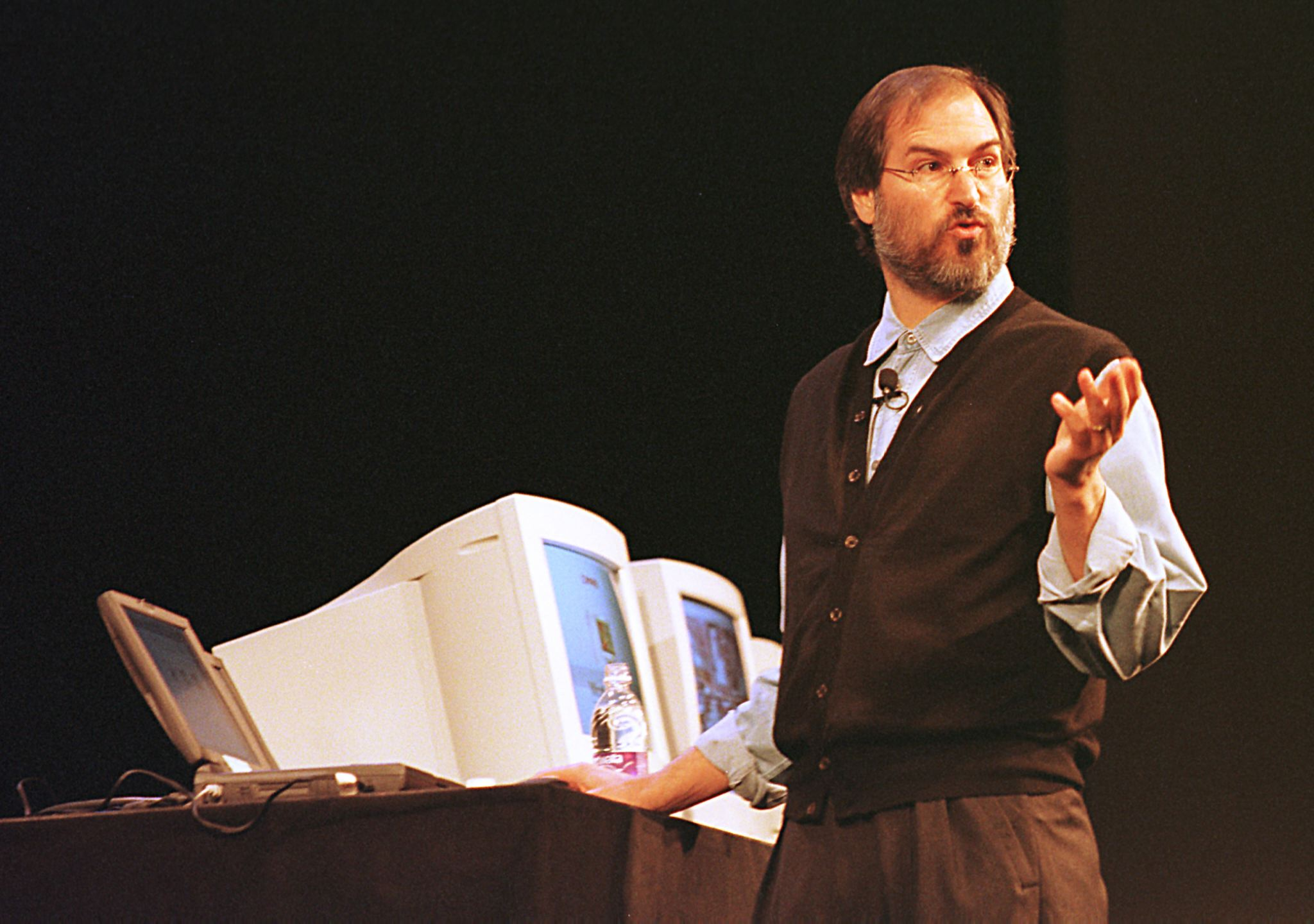 Apple Computer Interim CEO and co-founde