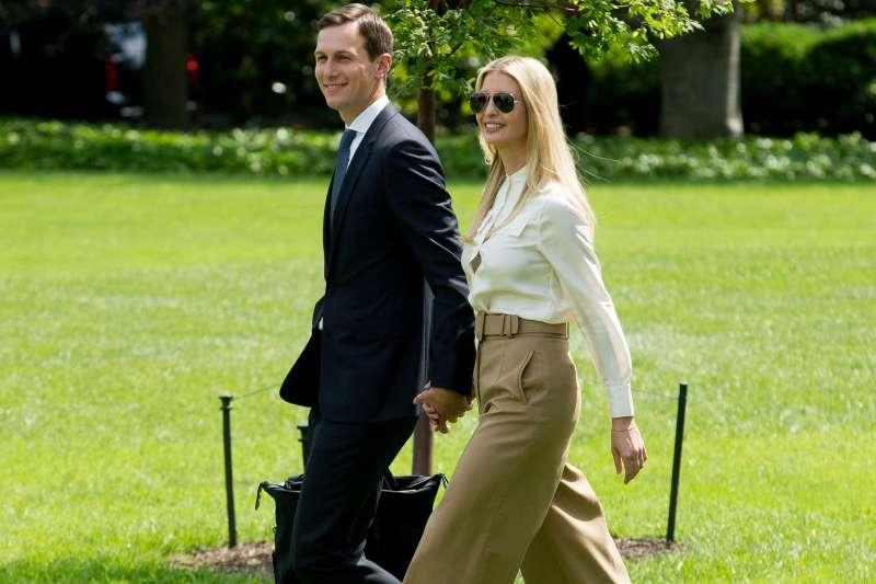 First daughter Ivanka Trump and White House Senior Advisor Jared Kushner, Washington, USA - 01 Jun 2018
