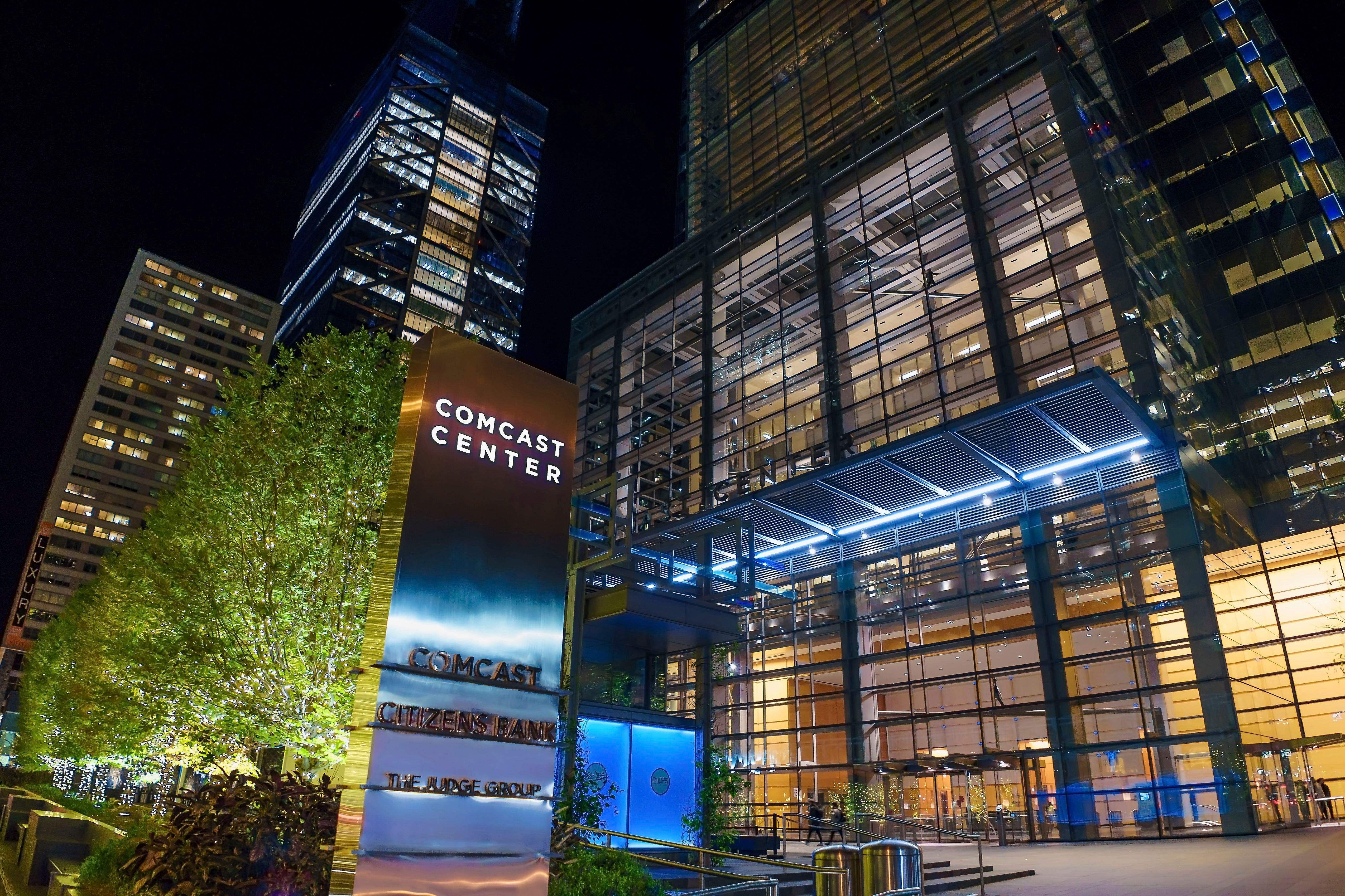 A Look at Comcast Corporation, Philadelphia, USA - 11 Jun 2018