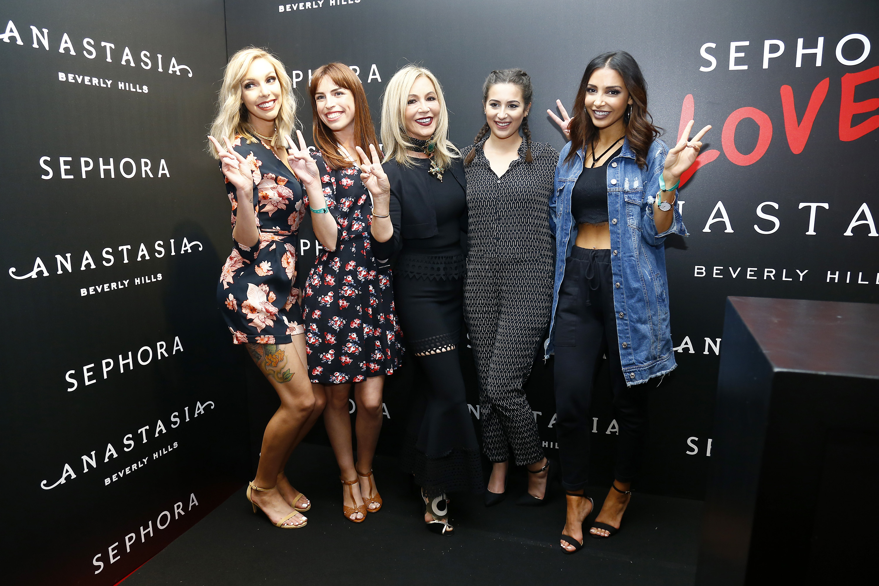 Anastasia Beverly Hills Launches Beauty Line Exclusively at Sephora