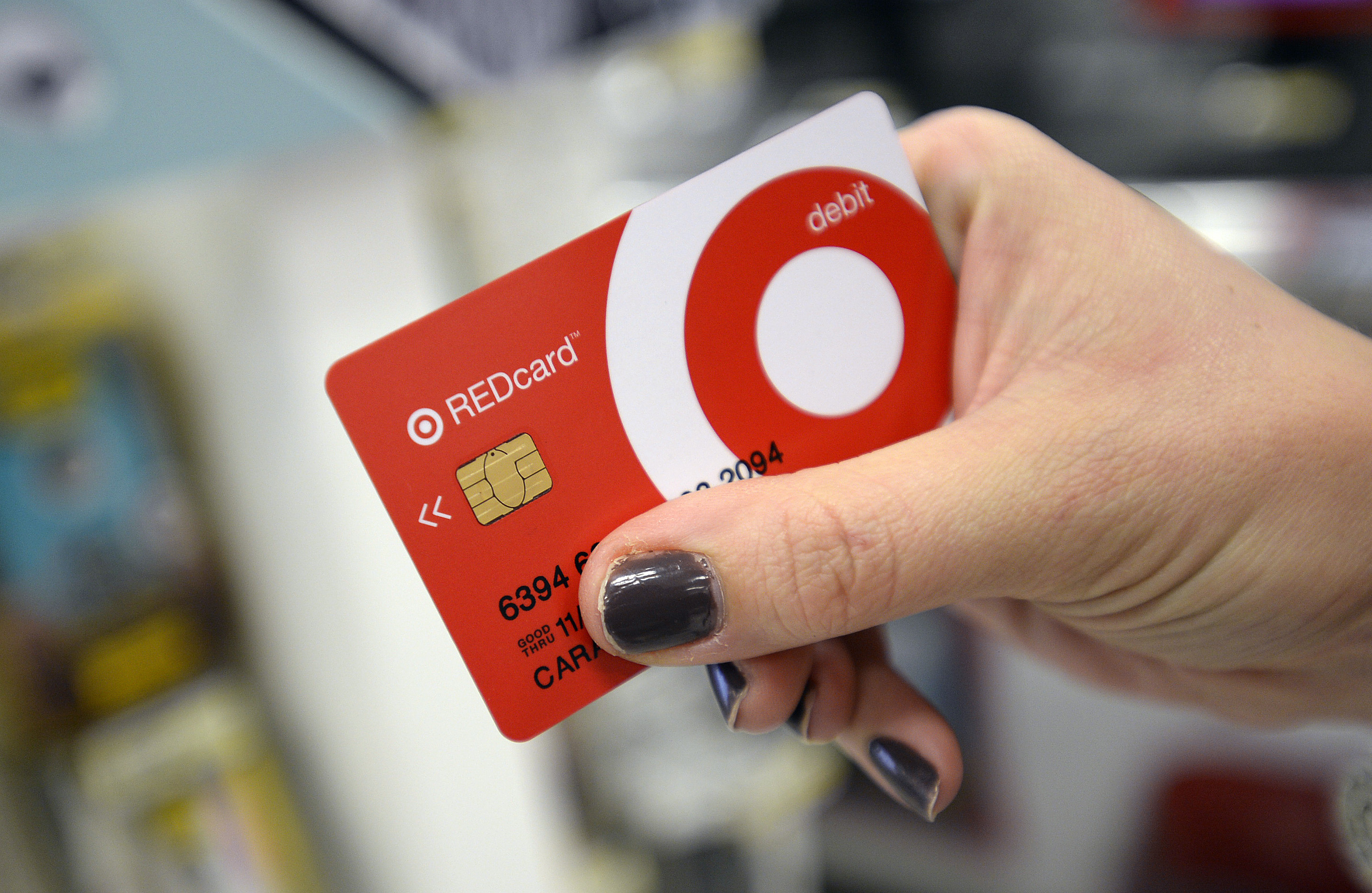 Target offers chip cards to its customers