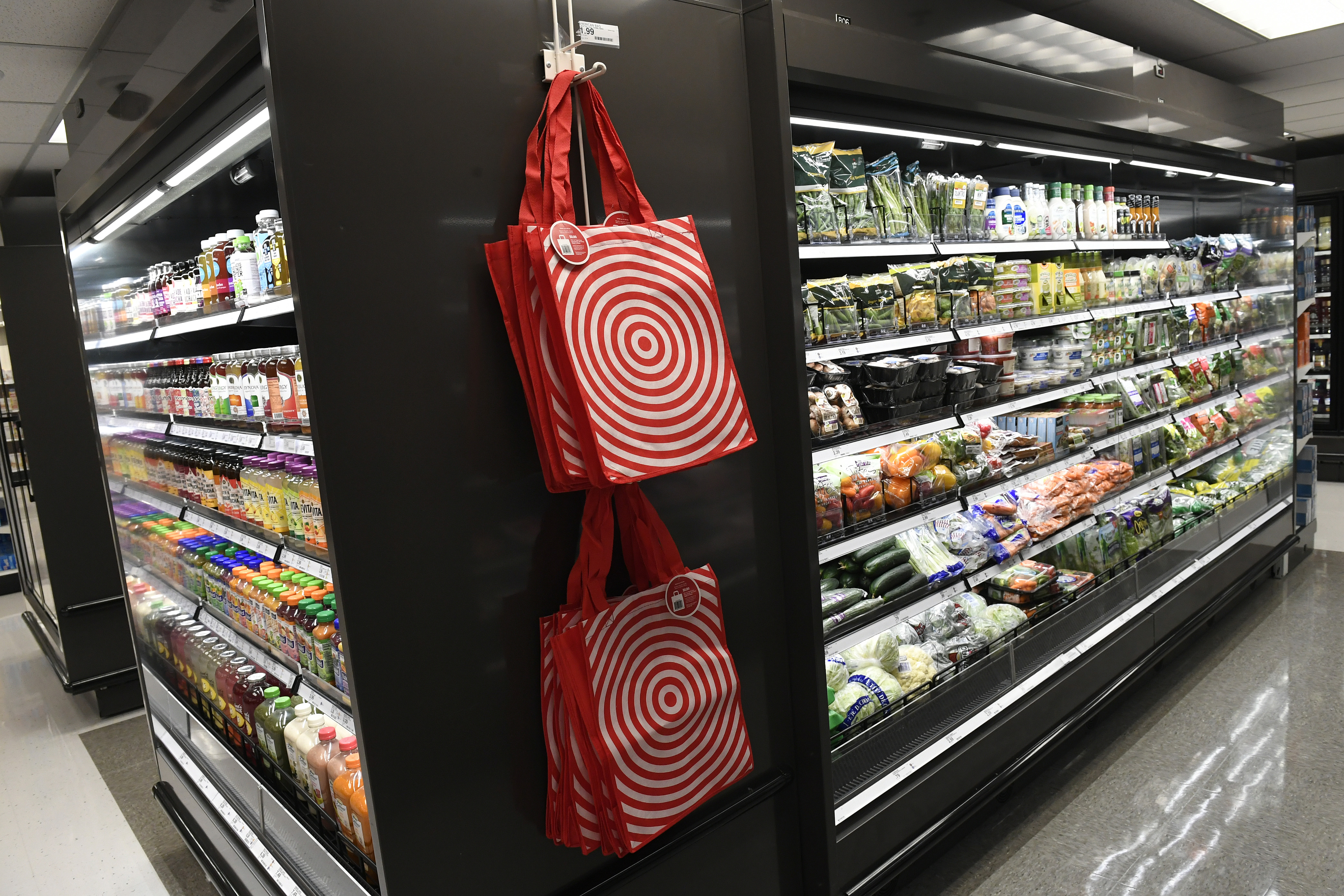 Target opens new store on 16th street Mall in Denver.